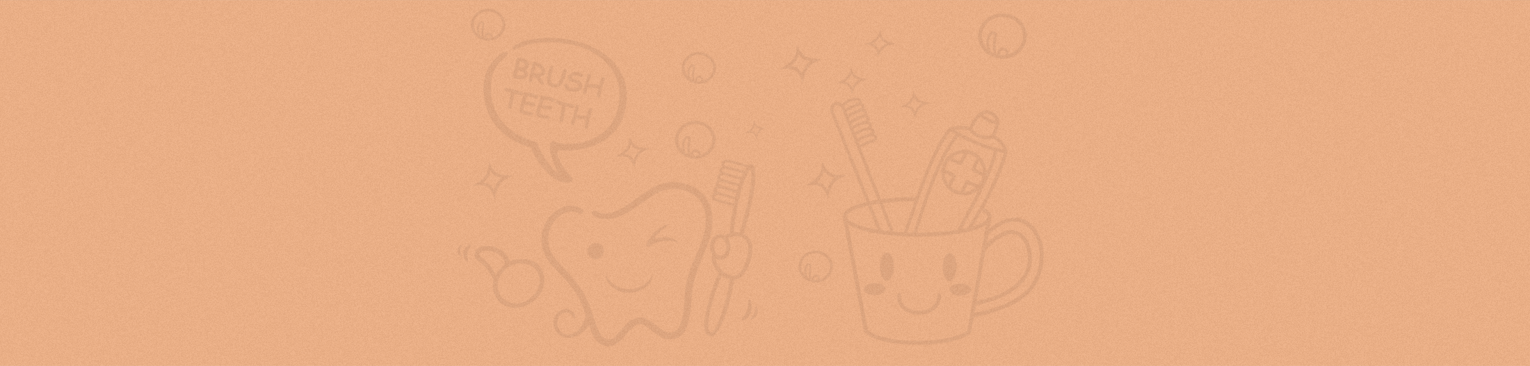 tan tooth brush background